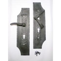 Geschmiedeter Türbeschlag C1, geschmiedeter Türgriff