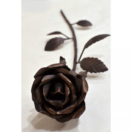 Geschmiedete Rose 40 cm*