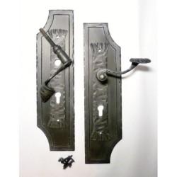 Geschmiedeter Türbeschlag C, geschmiedeter Türgriff