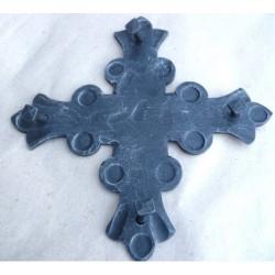 Geschmiedetes Kreuz, geschmiedete Dekoration